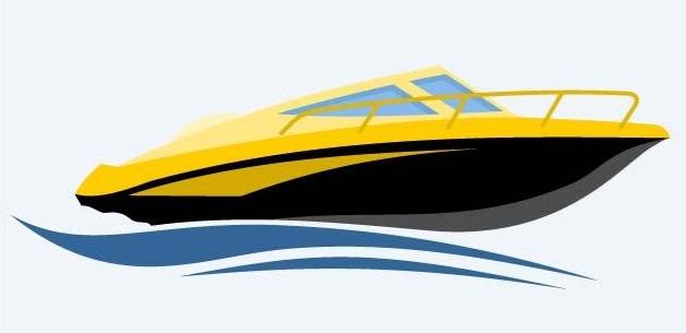 speedboat-clipart